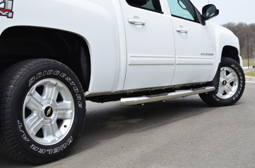 3 IN Round Side Bars