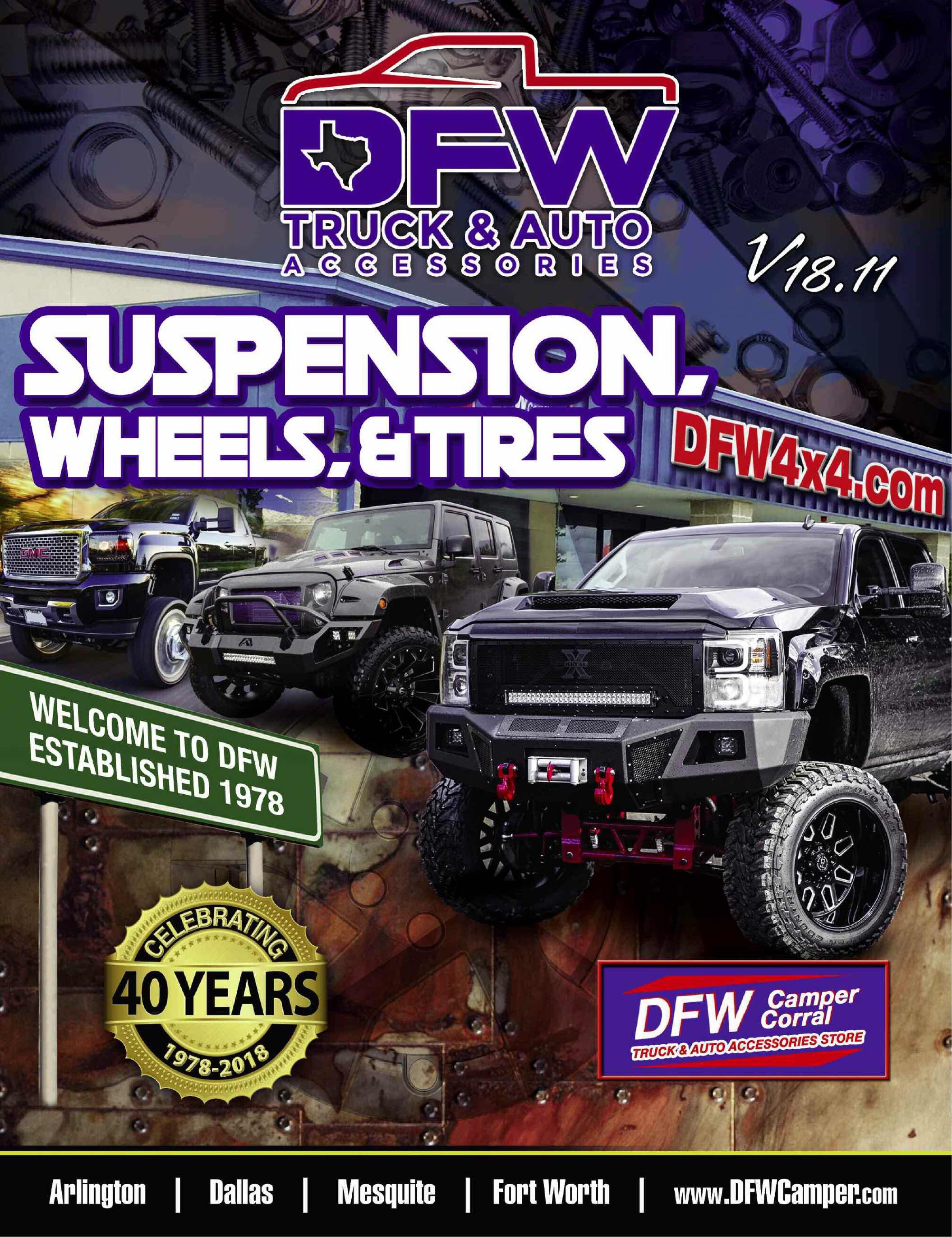 Suspension Catalog